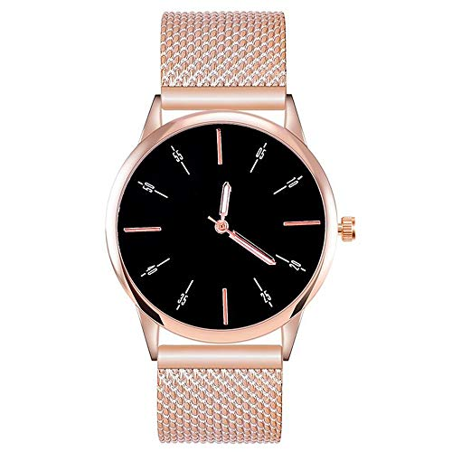 ZXMBIAO Armbanduhr Damenmode Lederband Quarz Uhr Damen Kleid Uhren Für Frauen Zubehör