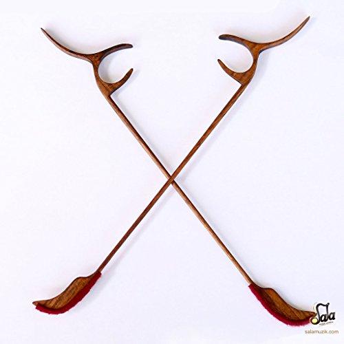 Professionelle mezrab Hammer für Persian Santoor Holzschläger SANTUR ssm-302