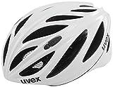 Uvex Boss Race Radhelm Grau/Schwarz/Weiß 55-60 cm