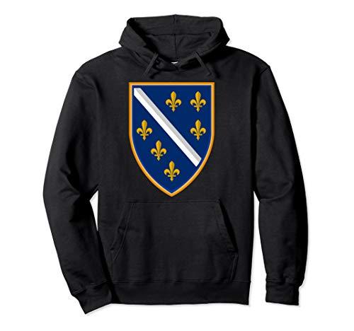 Bosna Ljiljan Bosanac Bosna i Hercegovina Pullover Hoodie