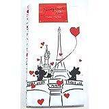 Disneyland Paris Je T'aimeTea - Juego de toallas