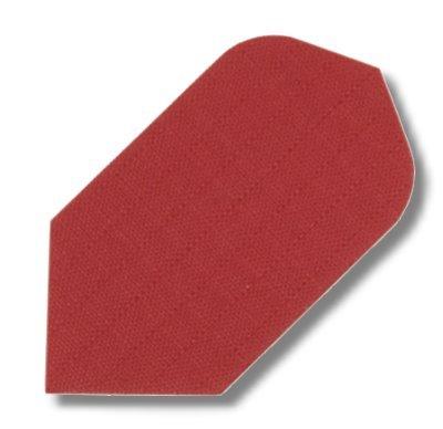 Dartfly Nylon Slim, rot. .Der Preis gilt per Set (3 St.) Nylon-Flys bestehen aus reißfester Textilfaser und zählen damit zu den qualitativ hochwertigsten Flys mit der längsten Lebensdauer. Ausführungen: Slim-Form.