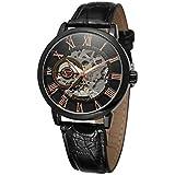 Reloj mecánico para Hombre 2020 Tienda de Moda para Hombre, Esqueleto Hueco Retro, Reloj mecánico Manual mecánico