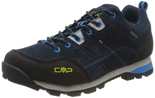 CMP Alcor Low Trekking Shoes WP, Scarpa da Passeggio Uomo, Blue INC, 42 EU