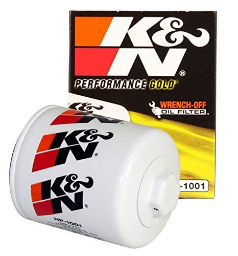 K&N Filtro de aceite premium: diseñado para proteger tu motor: compatible con modelos de vehículos…