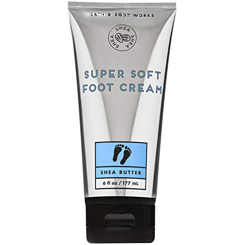 Bath and Body Works SHEA BUTTER Super Soft Foot Cream 6 Fluid Ounce