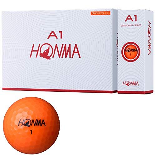 本間ゴルフ ゴルフボール A1 A1 BT1905 オレンジ