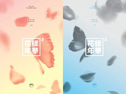 BigHit Entertainment BTS - In The Mood for Love Pt.2 [Blue+Peach Ver. Set] 2Cd+Extra Photocards Set