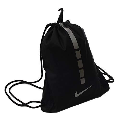 Nike BA5552 2018 Bolsa de Cuerdas para el Gimnasio 45 cm, Negro/Gris