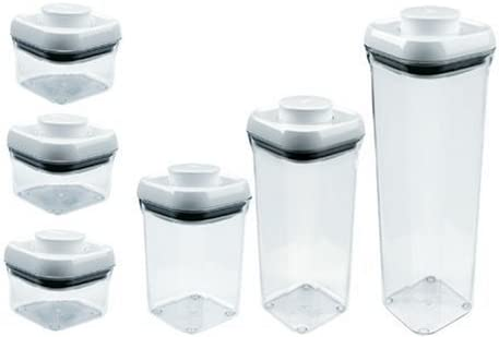 Oxo Good Grips POP 6-Piece Food-Storage Container Set with Lids