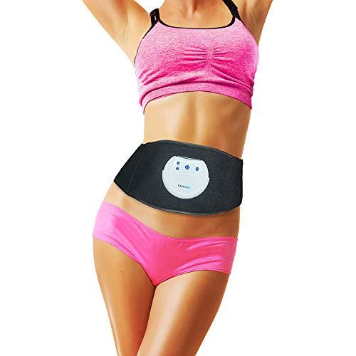 FAMIDOC Waist Trimmer Ab Stimulator Belt for Women Loss Weight Belly Fat Burner