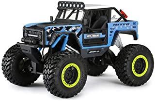 Large Awesome Extreme Flex 4x4 Chassis, 2.4GHz TECH, 9.6 Volt Lithium Ion Power and USB Charging 1:8 Scale New Bright RC Vaughn Gittin Jr. Ford Bronco Rock Crawler - GET Ready to Rock and Outlast The