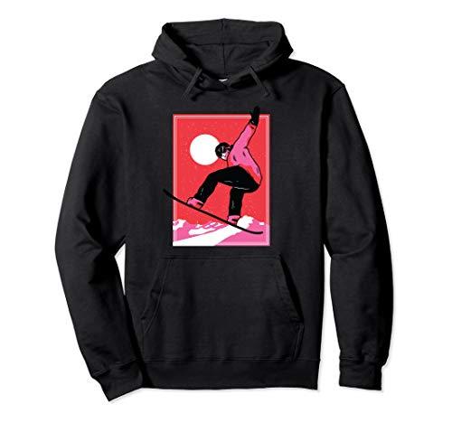 Cooler Snowboarder - Wintersport, Snowboard Freestyle Pullover Hoodie