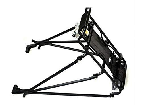 Bastidores de bicicleta de aleación de aluminio Portaequipajes de bicicleta MTB Bicicleta Bicicleta de montaña Bicicleta de carretera Bastidor trasero Instalar componente 4.8