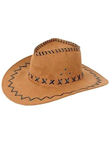 Armardi d Chapeau de cowboy Marron clair