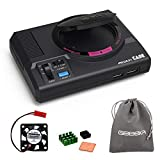 GeeekPi Retroflag MEGAPi Case with Functional Power and Reset Buttons Safe Shutdown and Safe Reset, with Cooling Fan & Heatsinks for Raspberry Pi 3 B+ & Raspberry Pi 3/2 Model B