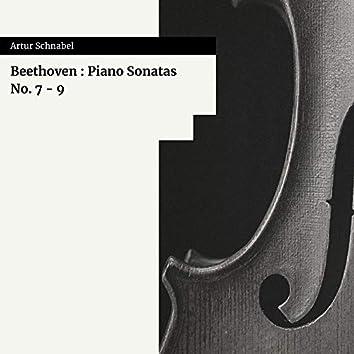 Beethoven : Piano Sonatas No. 7 - 9