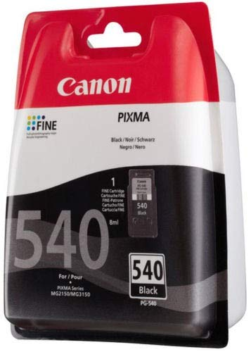Canon PG-540 Black Ink Cartridge-5225B005