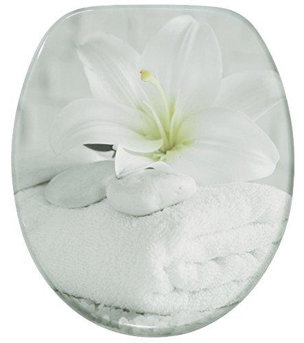 WC Sitz mit Absenkautomatik, hochwertige Oberfläche, einfache Montage, stabile Scharniere, Good Feeling