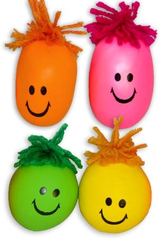 Fun Express Neon Smile Face Stress Balls (2 Dozen) B0035RFZNC ein guter Ruf in der Welt      Sonderangebot