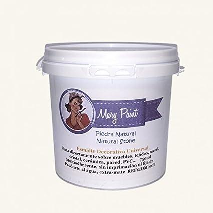 Mary Paint | Pintura para muebles efecto Chalk Paint, Piedra Natural - 750ml