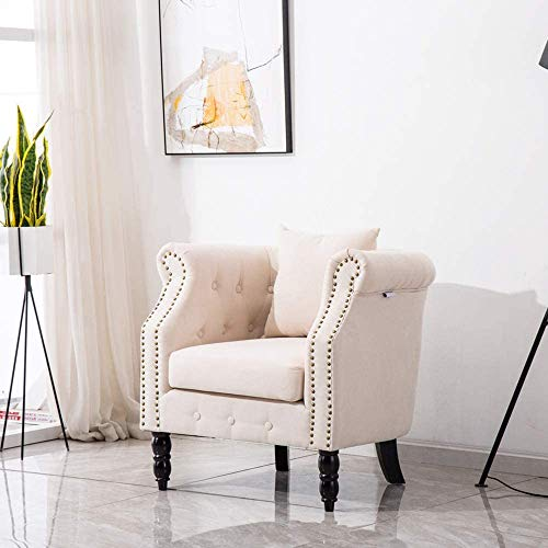 Muebles de la sala moderna, muebles de dormitorio de franela dormitorio sala de estar butaca silla de salón sofá silla de baño,Beige
