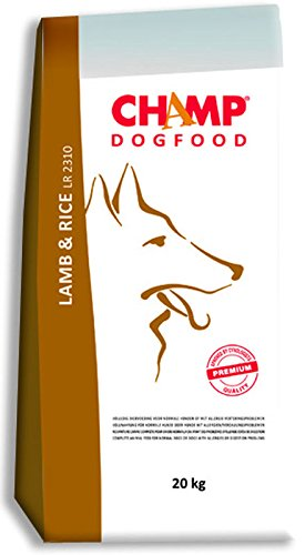 Premium Hundefutter von Champ Lamm & Reis 10 kg