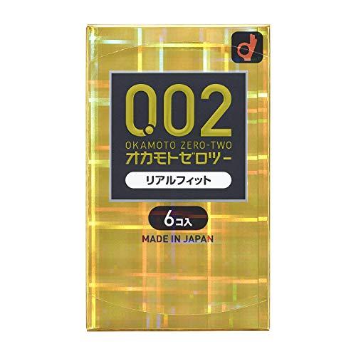 オカモト ゼロツー 0.02ミリ リアルフィット 6個入り