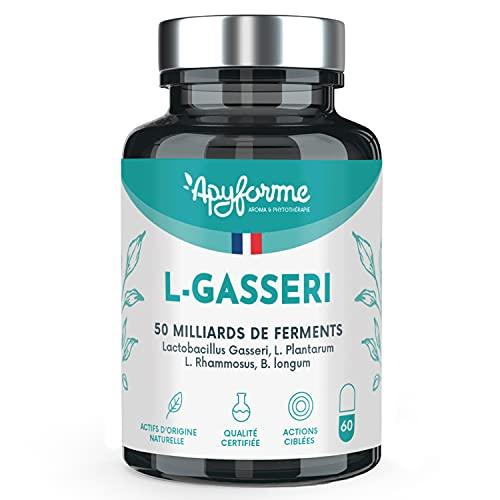 Probiotique  Lactobacillus Gasseri - Jusqu'à 50 Milliards d'UFC/Jour - Gélules Gastro-Résistantes