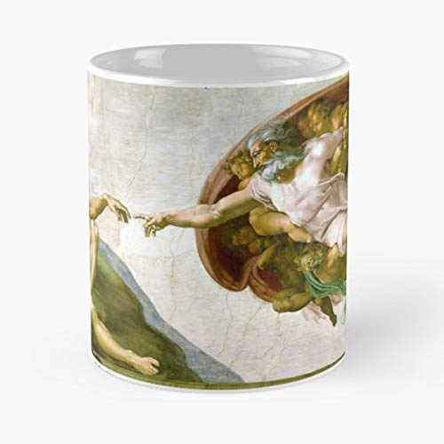 Michelangelo Creation Adam Di Lodovico - Best Gift Coffee Mugs 11 Oz Father Day