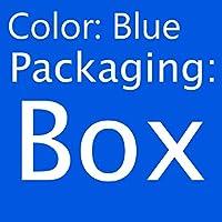 コーナー猫ブラシペットくし再生おもちゃプラスチックスクラッチ剛毛アーチマッサージセルフグルーミングスクラッチャー猫おもちゃ-青いボックスパック