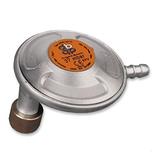 37 mbar Winkel Gasdruckregler Propanregler Druckminderer Gasgrills Gaskocher Gas
