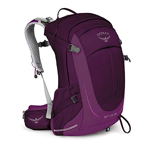 Osprey Sirrus 24 Women's Hiking Backpack Ruska Purple, One Size