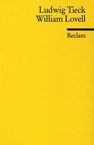 William Lovell (Reclams Universal-Bibliothek)