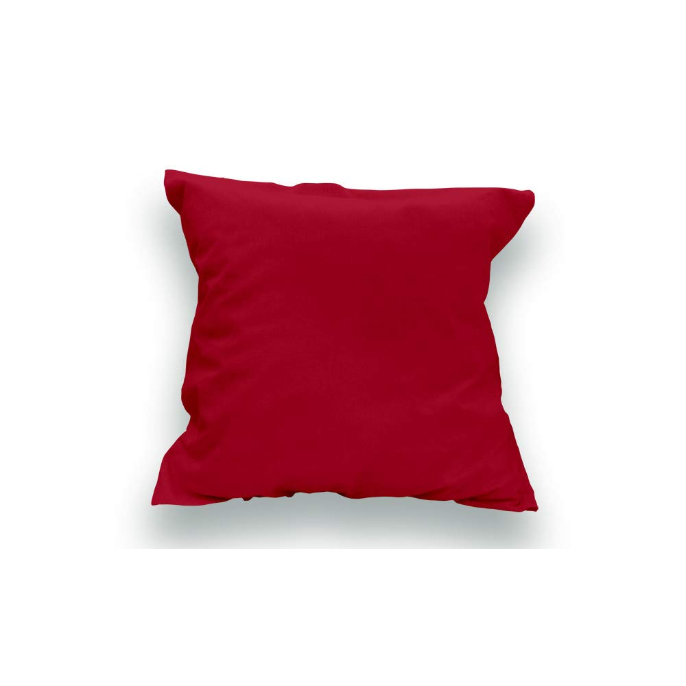 rojo fundas para almohadas, 65x65 cm fundas para cojines de