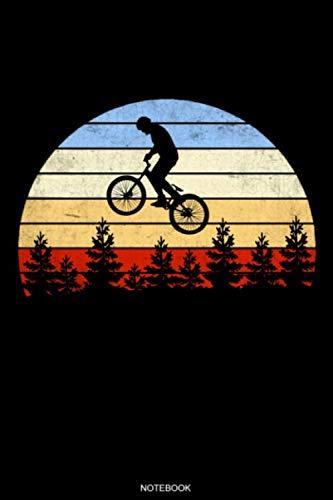 Notebook: Detaillierter Fahrradtour- und Urlaubsplaner für Radfahrer Geschenk Vintage Reisetagebuch für den Fahrradausflug Tagebuch Urlaub ... Memo Notizen I Größe 6 x 9 I 120 Seiten