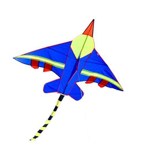 Drachen für Kinder Leicht zu fliegen mit Drachen S Airplane Shape Drachen Outdoor Drachen Flying Toys Drachen Strand und Spiele im Freien Einfach zu montieren und Giant Giant für Kinder Kinder Outdoor
