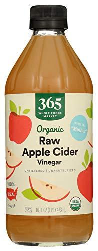 365 Everyday Value, Organic Raw Apple Cider Vinegar, 16 fl oz