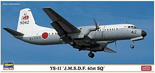 ハセガワ 1/144 YS-11 海上自衛隊 第61航空隊 10806