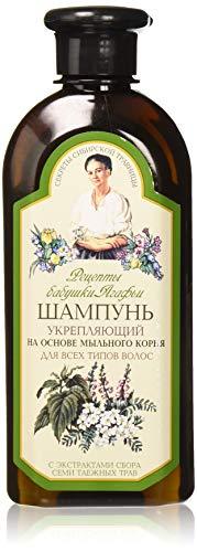 Grandma agafia's recipes - Recetas de la agafia fortalecer champú para todo tipo de cabello 350ml