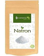 Soda 1kg / 1000g (NaHCO3) I Hidrogenocarbonato de sodio bicarbonato de sodio I versátil I ingrediente para el baño base y la cocción I agente de limpieza I calidad de los alimentos E500