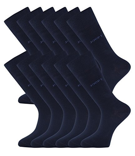 JOOP! Herren Socken Strümpfe Business Allround 900000 12 Paar, Farbe:Blau;Sockengröße:43-46;Artikel:-3000 navy