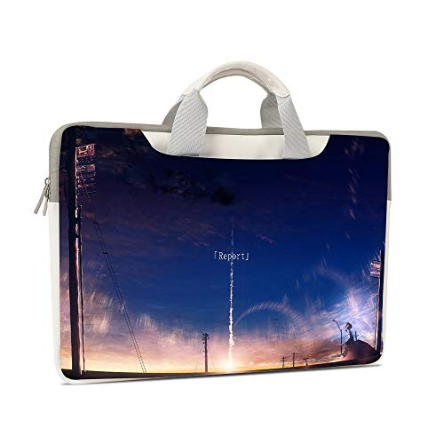 Vision Laptop Bag 13 13.3 14-inch for Macbook/Dell/HP Waterproof Laptop Shoulder Bag Laptop Bag (14-inch 15.75x1.18x11.02 inch, yt-813)