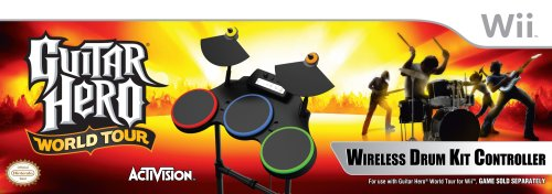 Guitar Hero World Tour - Stand Alone Drums - Nintendo Wii