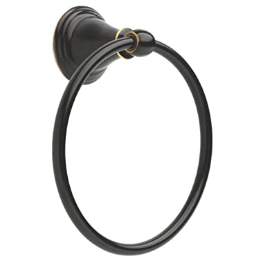 Delta Faucet  79646-OB Windemere Towel Ring, Delta Oil Rubbed Bronze