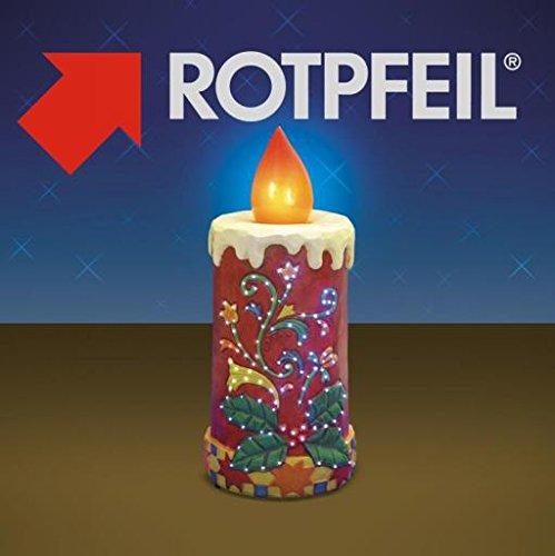 Rotpfeil LED-Dekoration
