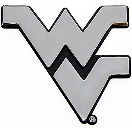 West Virginia Mountaineers Metal Tag License Plate Carbon Fiber Design Premium Aluminum Novelty University of Inc Rico Industries