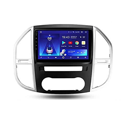 Radio Automático Doble Din Car Stereo Para Mercedes Benz Vito 3 W447 2014-2020 Gps Navegadora De La Navillación De La Navegación De La Navegación De La Navegac(Size:ocho núcleos,Color:WIFI:2GB+32GB)