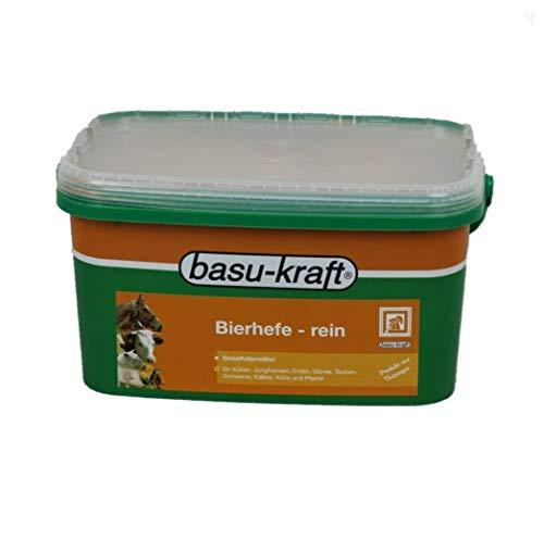 BASU Reine Bierhefe 3,5 kg Eimer - Naturprodukt mit essentiellen Aminosäuren (Lysin, Methionin, Cystin), B-Vitaminen und Spurenelementen - diätetische Wirkung