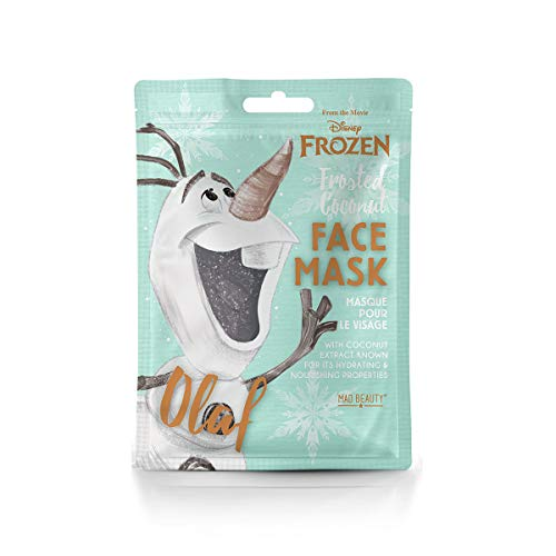 Mad Beauty, Mascarilla Facial Disney, Mascarilla Facial Olaf, Disney Frozen Face Mask Olaf